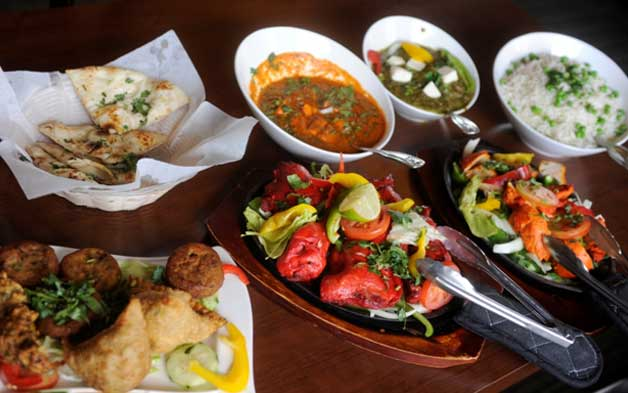 Top Indian foods at Indian restaurant Somerville