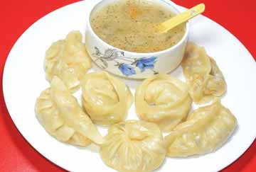 Vegetable MoMo Dumpling